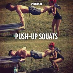 Couple workout.