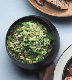 Quinoa and Spring Vegetable Pilaf - Bon Appétit 60 min