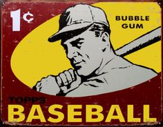 Topps Baseball Poster 1959 from allposters $12.99 great gift!