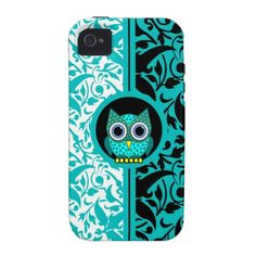 iphone 5s, iphone cases, iphone 4s, damask pattern, patterns, iphon case, owl iphon, iphone 4 cases, owls