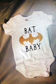 Nerds in Training Line: Nerdy Newborn Bat Baby onesies