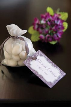 Wedding Gift Bags At Michaels : Michaels.com Wedding Department: Romantic Plum Favor Bag Sweet treats ...