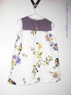 Sommerkleid mit KAM Snaps als Verschluss