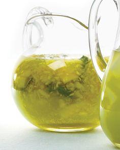 Pineapple-Basil Margaritas Recipe