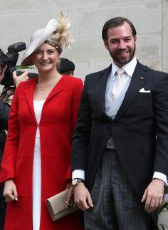 Hereditary Grand Duchess Stéphanie and Hereditary Grand Duke Guillaume June 23, 2014   Royal Hats