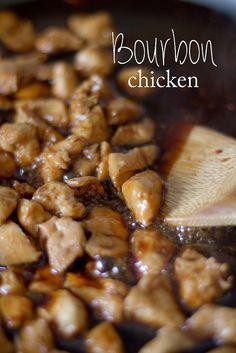 Simple Bourbon Chicken Recipe. Kid Friendly. #bourbonchicken #easychickenrecipe #kidfriendlyrecipe #kidrecipe #bourbon #chickenandrice