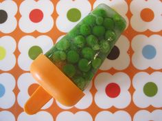 Steamed Green Pea Pop