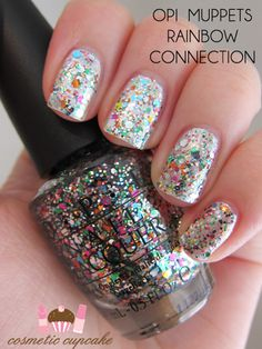 I just got this nail polish from the new OPI Muppets Holiday Collection. All the polishes are super fun and festive!