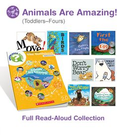 Baby animals, animal home and habitats, animal movements--there's so much for little ones to explore in these read-alouds and activities that help them get ready for success in school.