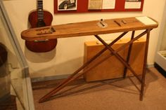 Made into a steel guitar - from AQS Quilt News