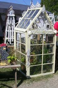 greenhouses made from old windows diy crafts, old windows, recycled windows, window greenhous, craft projects, vintage windows, window project, green hous, garden