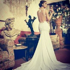 Open back detail gorgeous wedding dress more dresses wedding wedding
