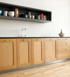 kitchen remodel black trim