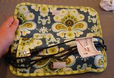 Flat Iron Travel Pouch