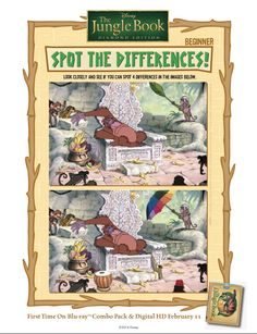 Can you spot the differences? #BareNecessities