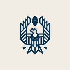 Reworked the Touchdown Eagle design I created for @americanfootballbrand. • We (@thestudioonefour) just posted the first batch of graphics…
