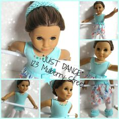 American Girl Doll Clothes Just Dance by 123MULBERRYSTREET on Etsy, $33.00