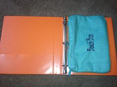 The pocket a tote fits nicely in a notebook.