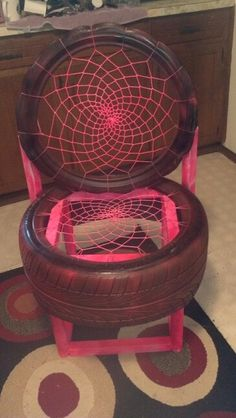 Diy tire furniture on pinterest tire chairs recycled for Diy tire chair