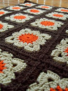 Awesome crochet afghan, I love it!