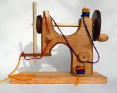 Etsy hardwood sewing machine. Nice.