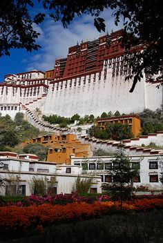 Hopefully one day I will enjoy tis view in a free Tibet Potala Palace,   Lhasa, Tibet, China