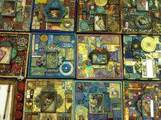 media mosaic, clay mosaic, art materi, polym clay, mix media, magnific mosaic, clay tile, lauri mika