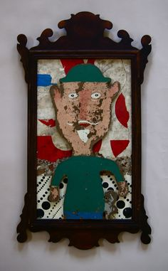 """Pirtle Object & Assemblage, """"Framed"""", Woody Pirtle"""