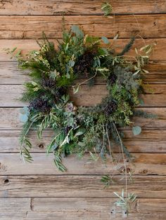 studio choo wreath with succulents holiday wreaths, studio choo, winter wreaths