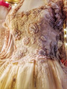 Joanne Fleming Design: 'Irina' .....embellished tulle ballerina wedding dress