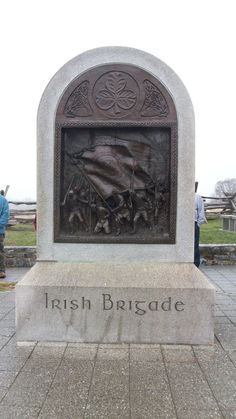 Irish Brigade Memorial at Antietam National Battlefield in Maryland honors the Irish volunteers of the 63rd, 69th and 88th New York Voluntary Infantry.  Those bold Fenian men of the Irish Brigade witnessed the horrors of the Sunken Road.