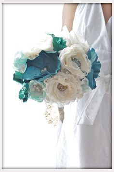 Teal wedding