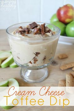 Cream Cheese Toffee Dip