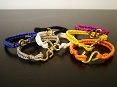 Rope bracelets only $4 each!