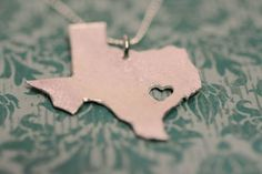 Born and raised -- I love Texas!  Truche at Etsy has all the states!!!
