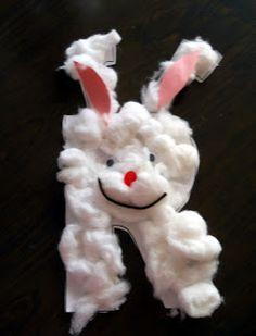 Classified: Mom: Animal Alphabet Art- R is for Rabbit