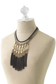 Lillith Fringe Necklace