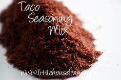 Recipe for Taco Seasoning. Tastes SO much fresher than the store version and you control the ingredients! #tacoseasoning #diy #makeyourown #homemade