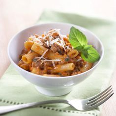 This low-cholesterol ziti recipe comes together in just 30 minutes.