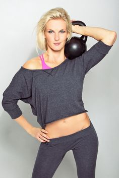 """Go """"bellistic"""" with a new fitness challenge! This is a total body workout for strength, endurance, and toning your muscles. #skinnyms, #strength"""