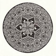 Прикосновение к Миру Творчества...: Zendala.