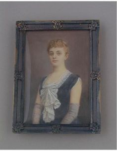 Mabel Wright was the second wife of Fernando Yznaga, Consuelo Vanderbilt's onetime Uncle (he was married to her aunt Virginia Jenny Smith) and the brother of her godmother Consuelo Yznaga, Duchess of Manchester.