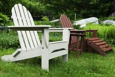 #AmericanMade outdoor furniture. #Polywood is made with recycled plastic lumber, perfect for the #sustainable design enthusiast.