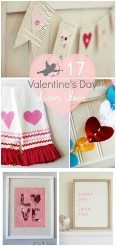17 adorable Valentine's Day decor ideas!!