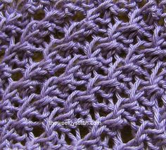 The Weekly Stitch: Diagonal Crepe Stitch
