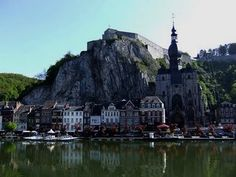 Dinant, Belgium chips, best places in the world, dinant, churches, art, travel deals, belgium, river meus, first place