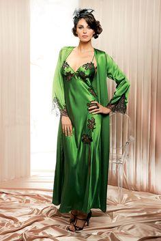Satin nightdress by Coemi