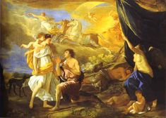 Poussin - Diana and Endymion