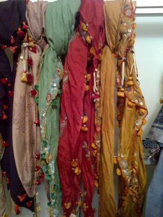 Lovely scarves. NYC.