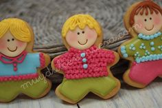 cute little boy cookies